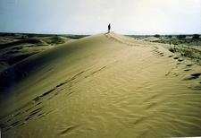 Gobi Desert Views In Mongolia