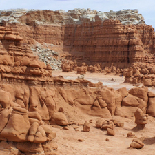 Hoodoos In Goblin Valley State Park
