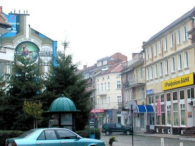 Street Scene In Gotse Delchev