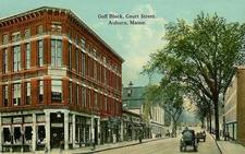 Goff Block 2 C Court Street 2 C Auburn 2 C M E