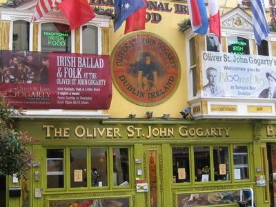 Oliver St John Gogarty Pub In Temple Bar