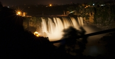 Gokak Falls During Night