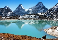 Gokyo Lakes On Way To Cho Oyu Base Camp - Nepal Himalayas