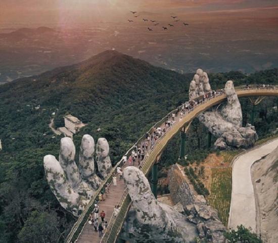 Golden Bridge Tour In Da Nang Tour Package Photos