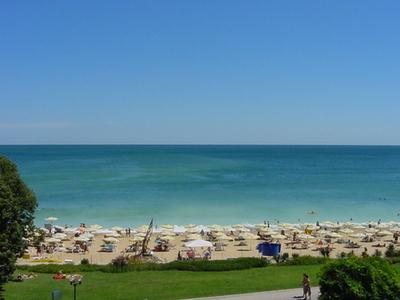 A Beach At Golden Sands Resort