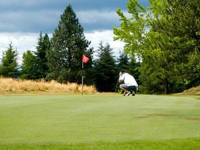 Golfers At Redtail Golf Course - BeavertonOR