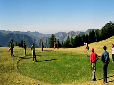 Golf In Khajjiar
