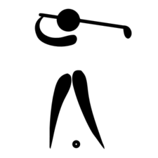 Golf Pictogram