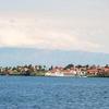 Goma City On The Shore Of Lake Kivu