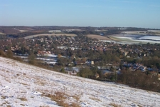 Goring Gap In Winter
