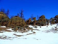 Gorkhi-Terelf National Park Landscape