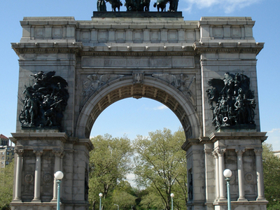 The Soldiers' And Sailors' Arch