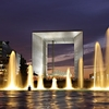 Grande Arche At Night