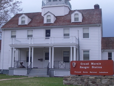 Grand  Marais  Ranger  Station