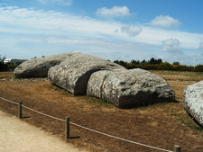 Grand Menhir Of Er Grah - Brittany - France