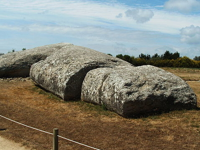 Grand Menhir Of Er Grah - Brittany - France