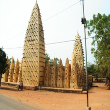 Grand Mosque In Bobo-Dioulasso