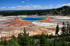 Grand Prismatic Spring - Yellowstone - Wyoming - USA