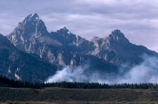 Grand Teton Beaver Creek Fire - Wyoming - USA