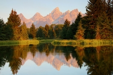 Grand Tetons With Snake River WY