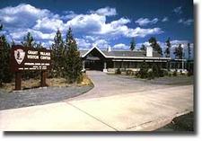 GrantVillage Visitor Center - Yellowstone - Wyoming - USA