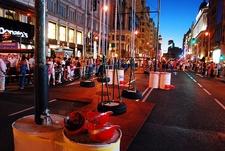Gran Via - Eventful Night View - Madrid
