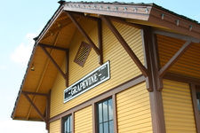 Grapevine Train Station By Raymond Lafourchette