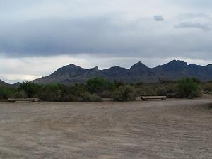 Grapevine Hills Road