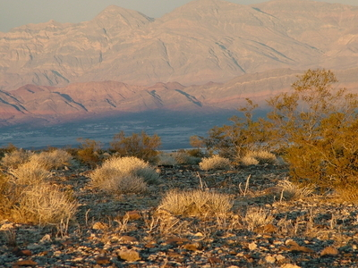 Grapevine Mountains Sunset