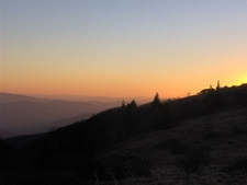 Grassy Ridge - Blue Ridge Sunset NC