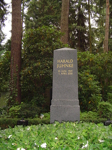 Grave Of Harald Juhnke