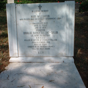Grave Of One Mary Williamson