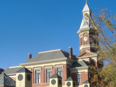 Graves County Courthouse In Mayfield Kentucky