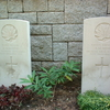 Graves Of Canadian Soldiers