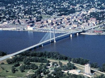 Great  River  Bridge  Burlington  Iowa