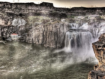 Great Shoshone Falls Grant View ID