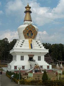 Great Stupa In Mindrolin