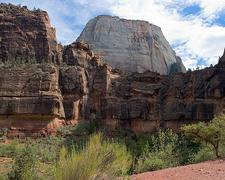 Great White Throne Mountain - Zion - Utah - USA