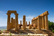 Greek Temple Of Juno - Agrigento Sicily