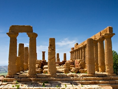 Greek Temple Of Juno - Agrigento
