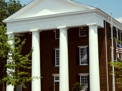 Greene County Courthouse In Greensboro