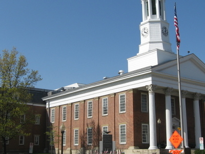 Greene County Courthouse In Downtown Waynesburg
