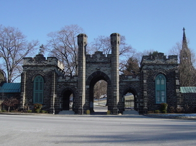 Greenmount Cemetery Baltimore