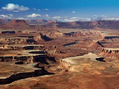 Green River Overlook In Canyonlands National Park