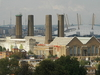 Greenwich Power Station With The O2