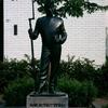 Statue Of The Grenedeer In Gronsveld