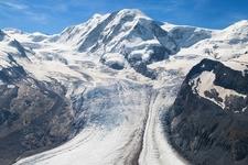 Grenz Glacier In Swiss Alps