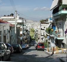 Grid Pattern On Piraeus Hill