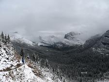 Grinnell Glacier Viewpoint Trail - Glacier - Montana - USA