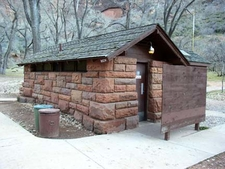 Grotto Camping Ground - South Comfort Station - Zion - Utah - US